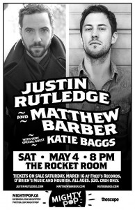 Mightypop presents Justin Rutledge & Matthew Barber
