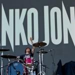 Danko Jones Drummer and Logo