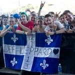 Def Leppard Quebec Flag