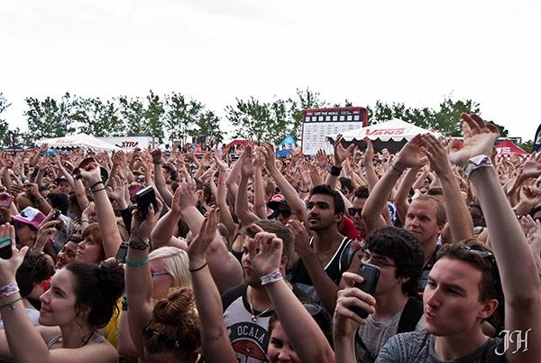 Vans Warped Tour 2013 Toronto - Cred: Jason Hodgins