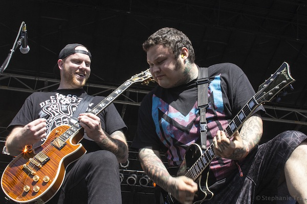 The Ghost Inside Riot Fest
