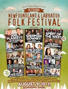 37th Annual Newfoundland & Labrador Folk Festival