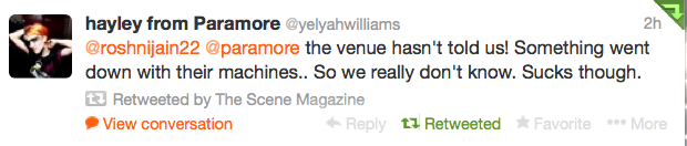 Paramore Fans spend hours in cold due to ticketing problems 1
