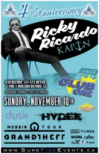Sure Fire 4 Year Anniversary feat. Ricky Ricardo, KAPTN, Grand Theft and more