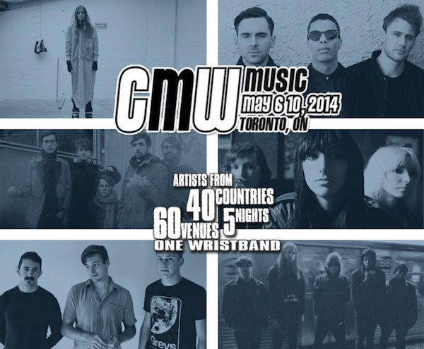CMW announce first round of showcase acts